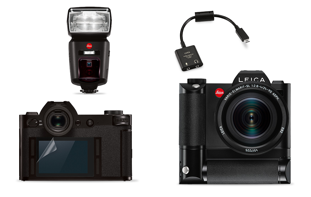 NEW TECHNICAL EQUIPMENT FOR THE LEICA SL-SYSTEM - New technical equipment for the everyday needs of professional photographers