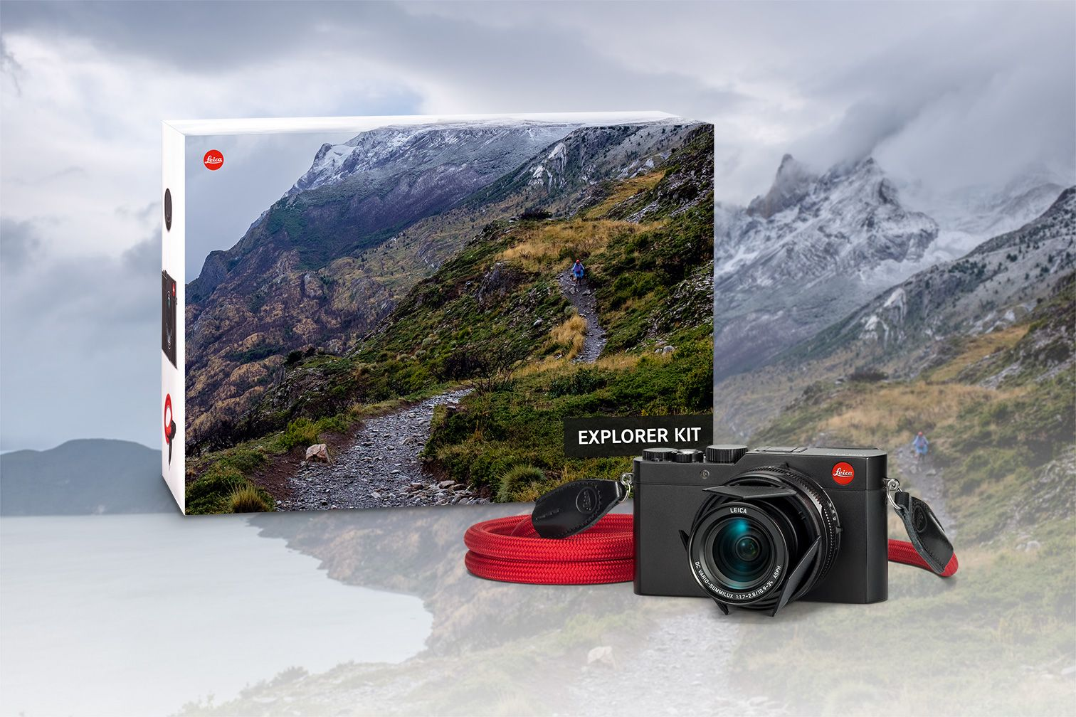 NEW: LEICA D-LUX EXPLORER KIT - Capture those unique moments - instinctively